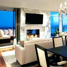 two sided gas fireplace indoor outdoor designs with ideas 31