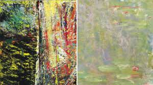 the impressionist pioneer vs the postmodern master two 30 million paintings will duel at christie s and sotheby s this fall