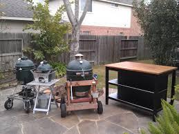 Big Green Egg Outdoor Kitchen Outdoor Kitchen Island Big Green Egg Egghead Forum The