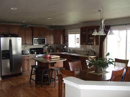 Ceramic Kitchen With Light Cabinets Dark Wood Floors Decorative