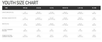Burton Snowboard Size Chart Youth