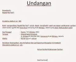Contoh Surat Undangan Pernikahan Via Email Contoh Surat