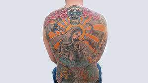 švýcar Prodal Své Tetování Na Zádech Sběrateli Umění Novinkycz