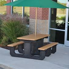 recycled plastic picnic tables commercial picnic tables