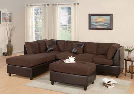 Living Room With Sectional Decor Artificial Classic Corduroy Sectional Sofa For Unique