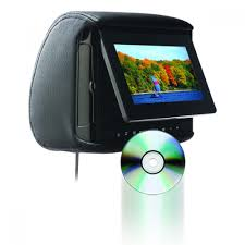 concept homepage bsd 705 chameleon 7 lcd headrest w build in dvd player