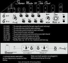 6v6 Bias Chart Swart Stereo Master 20