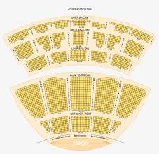Kleinhans Seating Chart General Seating Chart Kleinhans Music Hall Floor Plan Png