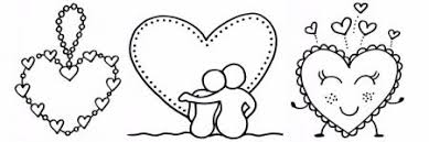 Zoek Je Een Lieve Kleurplaat Voor Je Valentijnsliefde Om Te Kleuren