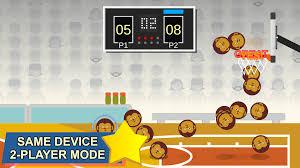 basketball game playing