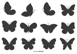 Butterfly Shape Set Download Free Vectors Clipart