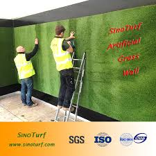 china supply free sample synthetic grass wall artificial grass for garden fence
