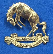 Canadian Light Horse Canada Wwii 14th Canadian Light Horse Cap Badge
