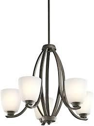 kichler chandelier diana 5 light dover saldana