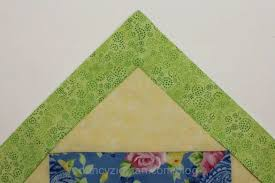Easy Mitered Corner with No Math Miter Template by Nancy Zieman ... & Mitering Corners Made Simple Adamdwight.com