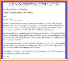 Example Business Proposal Letter | Cvfree.pro