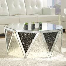 Mirrored coffee table sets Silver Wayfair Rosdorf Park Blakes Mirrored Coffee Table Wayfair