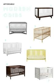 affordable modern cribs  mommy status