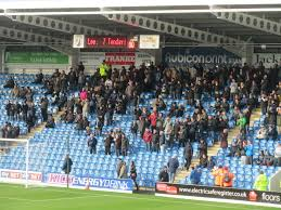 Image result for bristol rovers away fans