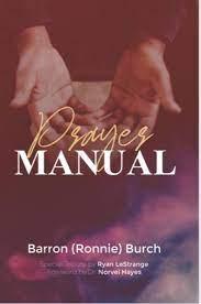 Prayer Manual- Ronnie Burch – RLM Online Store