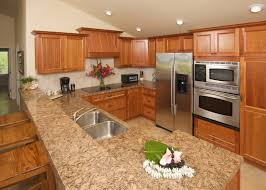 Small Kitchen Reno Grey Painted Kitchen Cabinet Cream Color Granite Countertop Small