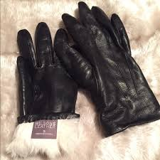 leather gloves lined w rabbit fur m 587b0c84f739bc006df7a