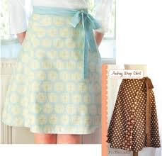 Wrap Skirt Pattern Amazing Audrey Wrap Skirt