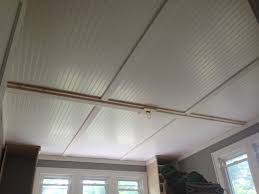 Cheap Ceiling Ideas Handsome Beadboard Ceiling Panels 74 For Home Design Ideas For