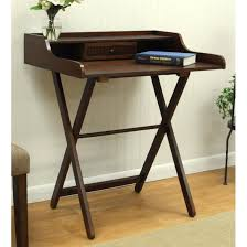 foldable office table. Foldable Desk For Small Apartment: Dark Color ~ Design Inspiration Office Table