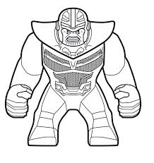 All in the unforgettable lego style. Lego Marvel Coloring Pages Thanos Lego Coloring Pages Lego Coloring Superhero Coloring Pages