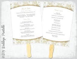 Wedding Programs Template Free Wedding Ceremony Programs Sample Free Printable Program