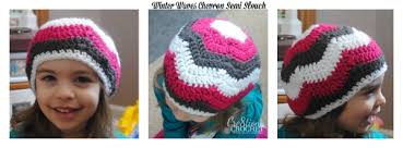 Free Crochet Hat Patterns For Toddlers Amazing Chevron Semi Slouch Free Crochet Pattern Cre48tion Crochet