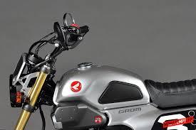 honda grom 50 scrambler tokyo motor show mini4temps fr