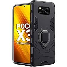 TheGiftKart Tough Armor Bumper Back Case <b>Cover for Poco X3</b>