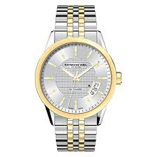 gloves men womens accessories clothing footwear shoes caps mens gold silver raymond weil 2770 stp 65021 lancer two tone stainless steel bracelet