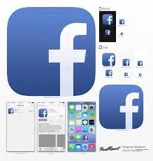 facebook icon size ios7 facebook icon by betty02 on deviantart