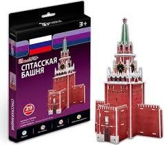 3D пазл <b>CubicFun Спасская башня</b> (S3035h) — купить в интернет ...