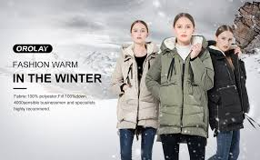 Orolay Women S Thickened Down Jacket Size Chart Orolay Womens Thickened Down Jacket Most Wished Gift