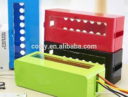 Multi Power Plug Socket Anti-dust Storage Box Cable/Wire/Cord Organizer Box