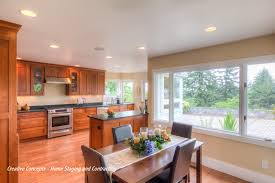 Dining Kitchen How To Stage A Dining Room Real Estate Staging Kitchen Dining