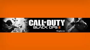 Black Ops 2 Youtube Channel Art Banner
