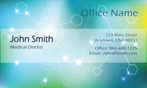 Office Visiting Card Medical Clinical Laboratory Technician Business Card Design 301491