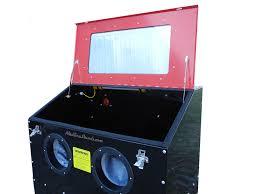 Abrasive Blasting Cabinet New Redline Re36kd Steel Sand Blasting Blaster Blast Cabinet Glass