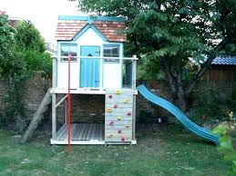 easy diy elevated playhouse backyard free plans to build for your kids secret hideaway how a