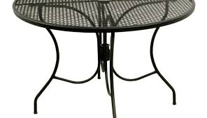 aluminum dining set and glass chairs metal rectangular outdoor tables furniture costco round for cover black
