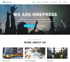 Themes Downloading Free Free One Page Wordpress Theme 2019 Onepress