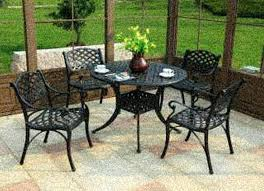 wrought iron patio set clearance