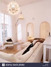 Wohnzimmer Mit Sofa übergroße Angle Poise Lampe Leuchten