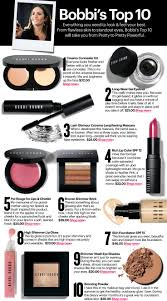 bobbi brown s top 10 s for your basic cosmetics wardrobe all listed