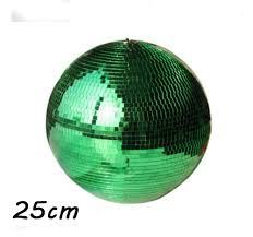 Mini Disco Ball Decorations D1000cm Green hand made glass rotating mirror ball 100 disco home 54